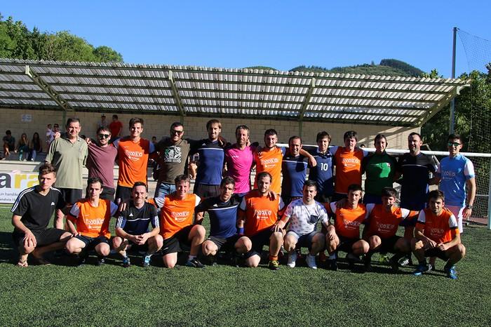 Futbol 7 txapelketako izen ematea zabalik