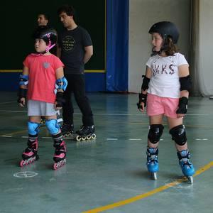 Bukatu dute patinaje ikastaroa