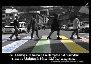 MAIATZAK 17, LGTB+fobiaren kontrako eguna!