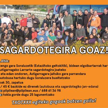 Sagardotegira goaz