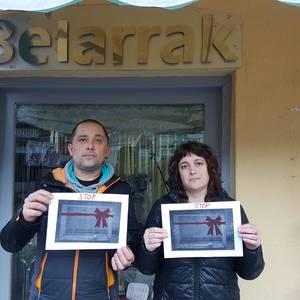 Hainbat herritarrek bat egin dute Stop Abandonos proiektuarekin