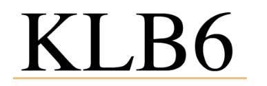 KLB6 logotipoa