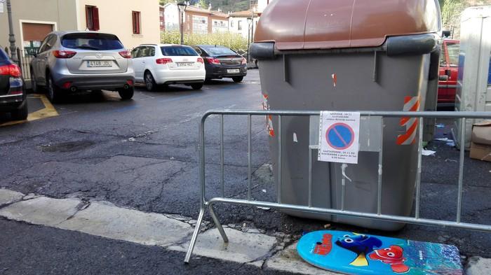 Erregetxeko autoak erretiratu egin behar dira, barikurako