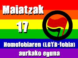 LGTB-fobiaren aurkako Nazioarteko Eguna