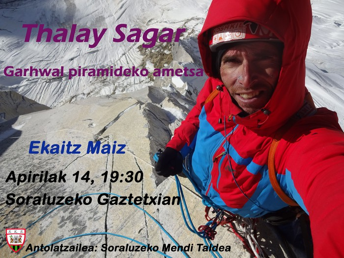 Hitzaldia: Thalay Sagar, Garhwal piramideko ametsa