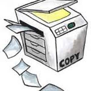 Fotokopiak eta faxa