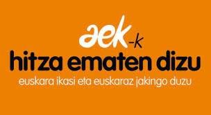 Ikasi euskara AEK-n