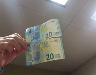 20 euroko faltsua