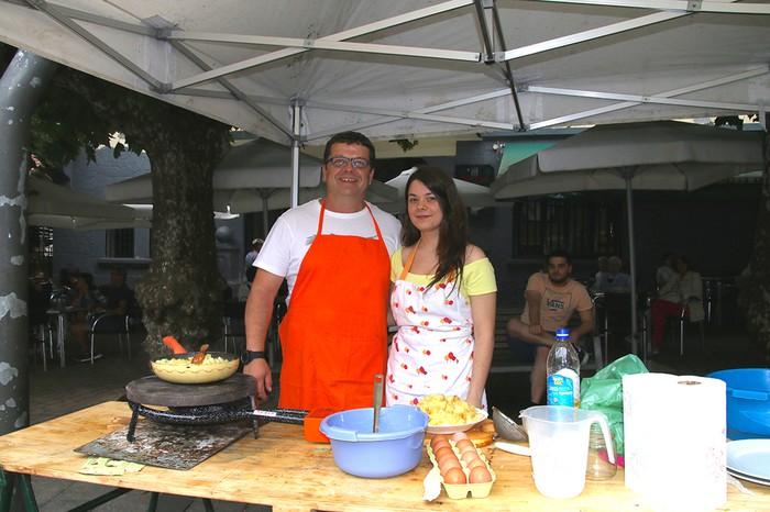Tortillarik onenak De la Rosatarrenak - 2