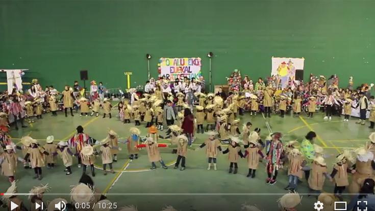 [BIDEOA] Gaztetxoen dantza-erakustaldia