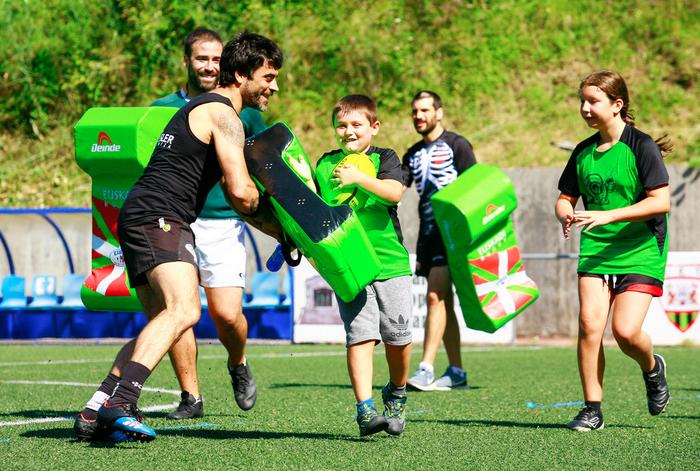 Gaur hasiko dira rugby saioak