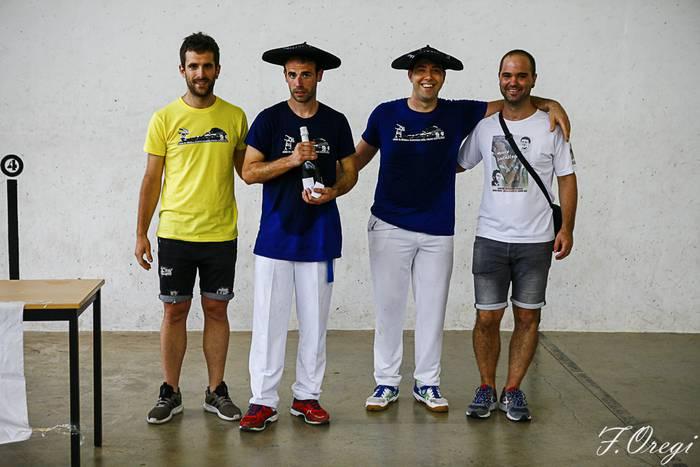 Fernandezek eta Unanuek irabazi dute hemezortzigarren pelota txapelketa
