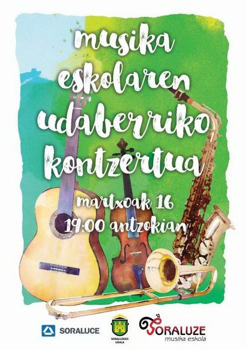 Musika Eskolaren Udaberriko Kontzertua