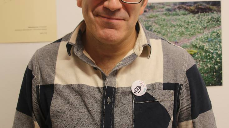 """Javier Gabilondo: """"Lankide batekin lehen aldiz euskaraz egiteko aukera izan dut"""""""
