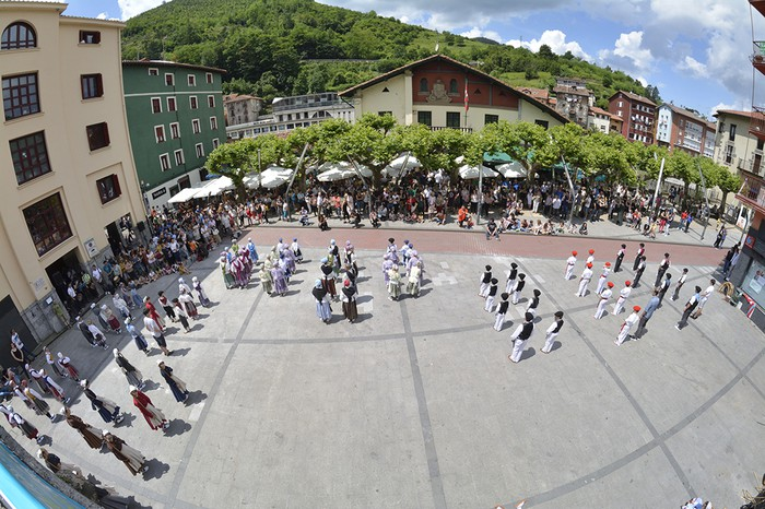 Euskal Jaia herritarren eta eguraldiaren berotasunarekin gauzatu zuten - 37