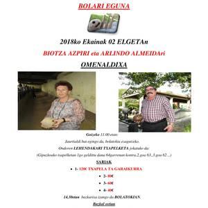 Zapatuan Bolari eguna Elgetan