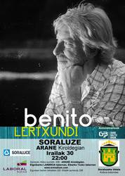 5 SARRERA BIKOITZ Benito Lertxundiren kontzerturako