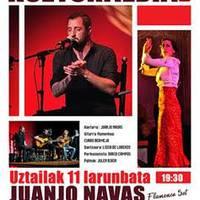 """Musika: """"Quinteto Juan Navas""""."""