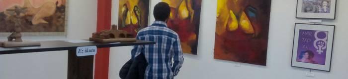 Arte feminista erakusketa ikusgai dago 40 lan ingururekin