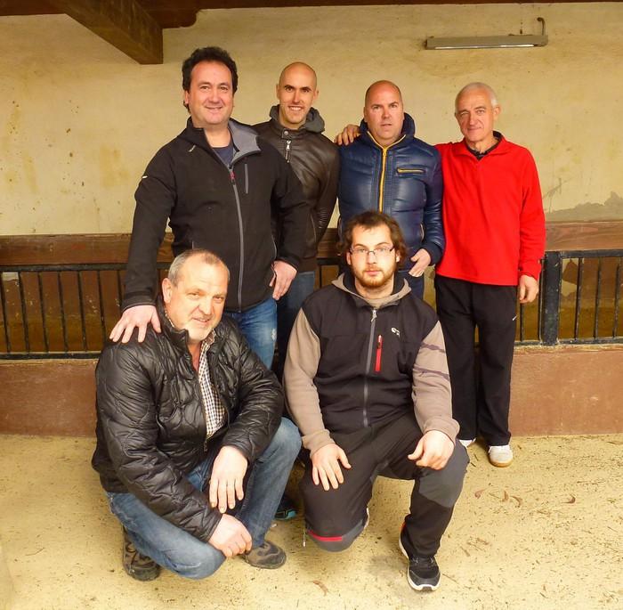 Euskadiko XXVIII. hiru txirlo bola txapelketa hastear