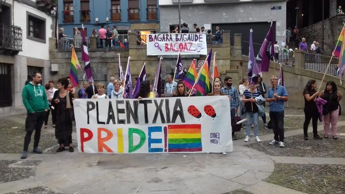 'Plaentxia Pride' leloa Soraluzen kalez kale