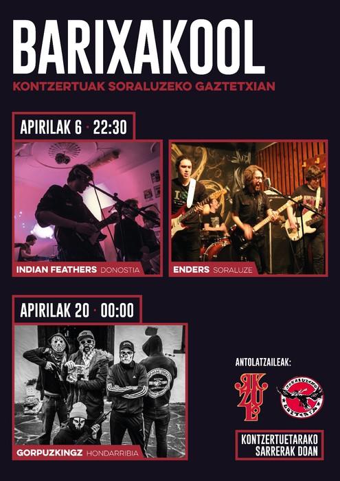 "Indie eta rock musika ""Barixakool"" jaialdian"