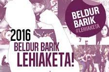 """""""Beldur Barik 2016"""" lehiaketa"""