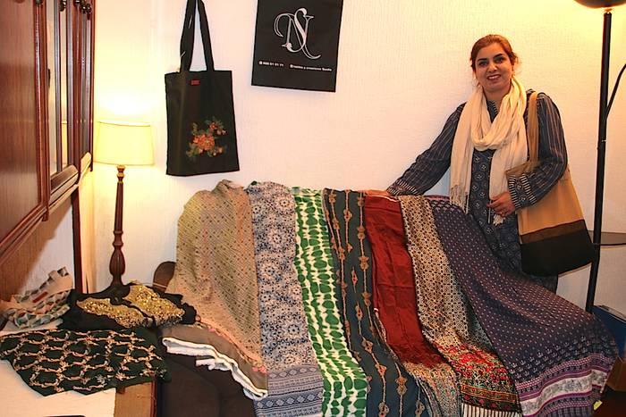 Saadia Nasir (SN): Pakistango oihalekin diseinu bakarreko lanak
