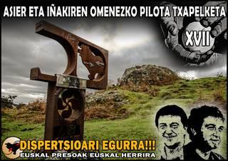 ASIER ETA IÑAKIREN OMENEZKO XVII. PILOTA TXAPELKETA