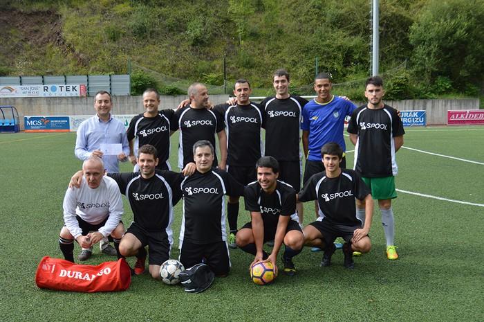 Spool Teamek irabazi du aurtengo Futbol 7 txapelketa