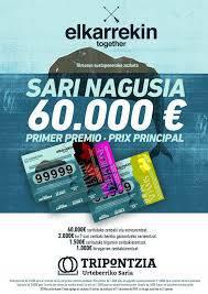 Tripontzia sariak beste 60.000 euro banatuko ditu
