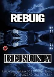 Kontzertua: Rebuig + Beruna