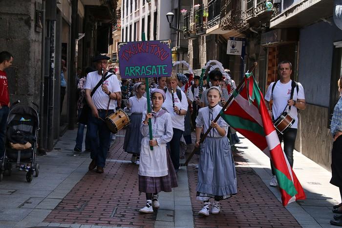 Euskal Jaia herritarren eta eguraldiaren berotasunarekin gauzatu zuten - 4